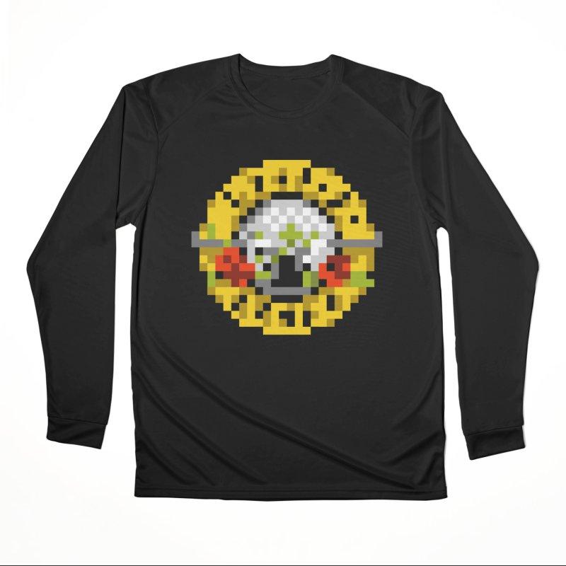 Hard Rock Band Men's Performance Longsleeve T-Shirt by Aled's Artist Shop