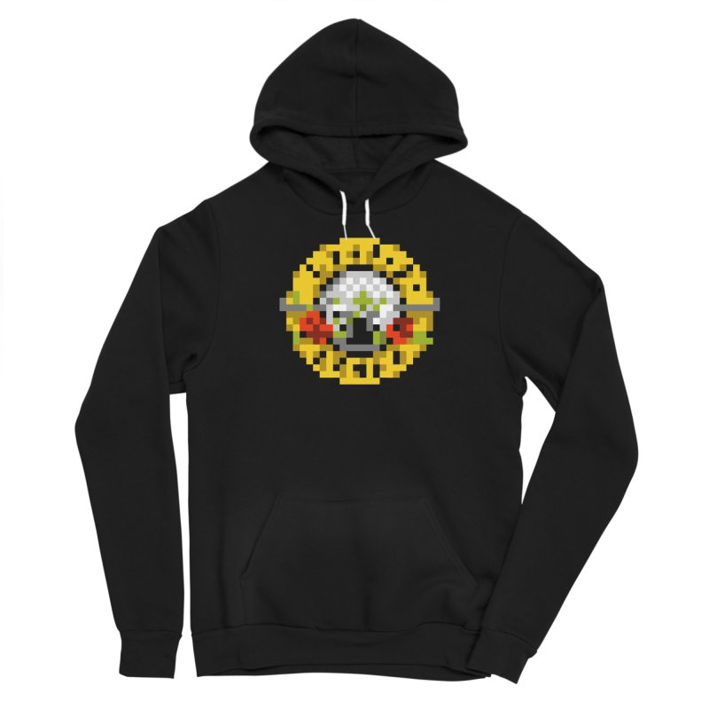 Hard Rock Band Women's Sponge Fleece Pullover Hoody by Aled's Artist Shop