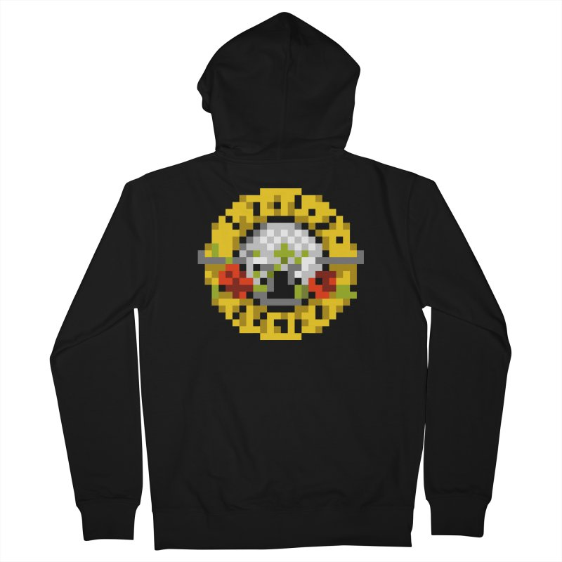 Hard Rock Band Men's Zip-Up Hoody by Aled's Artist Shop