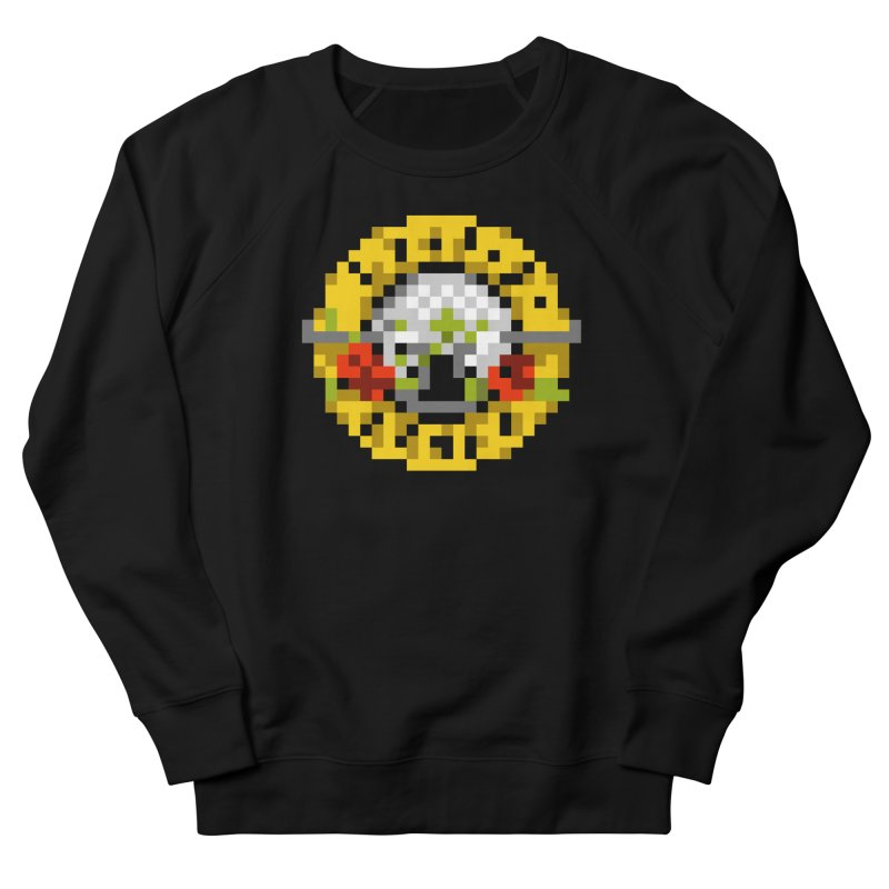 Hard Rock Band Men's French Terry Sweatshirt by Aled's Artist Shop