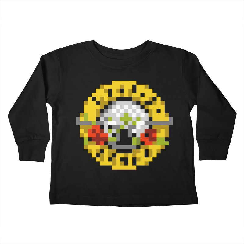 Hard Rock Band Kids Toddler Longsleeve T-Shirt by Aled's Artist Shop