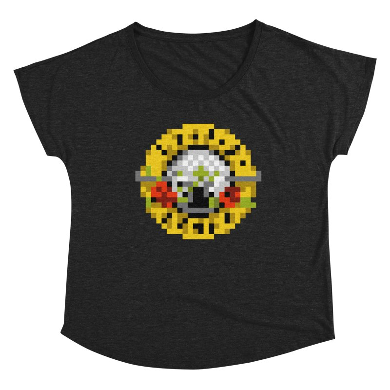 Hard Rock Band Women's Scoop Neck by Aled's Artist Shop