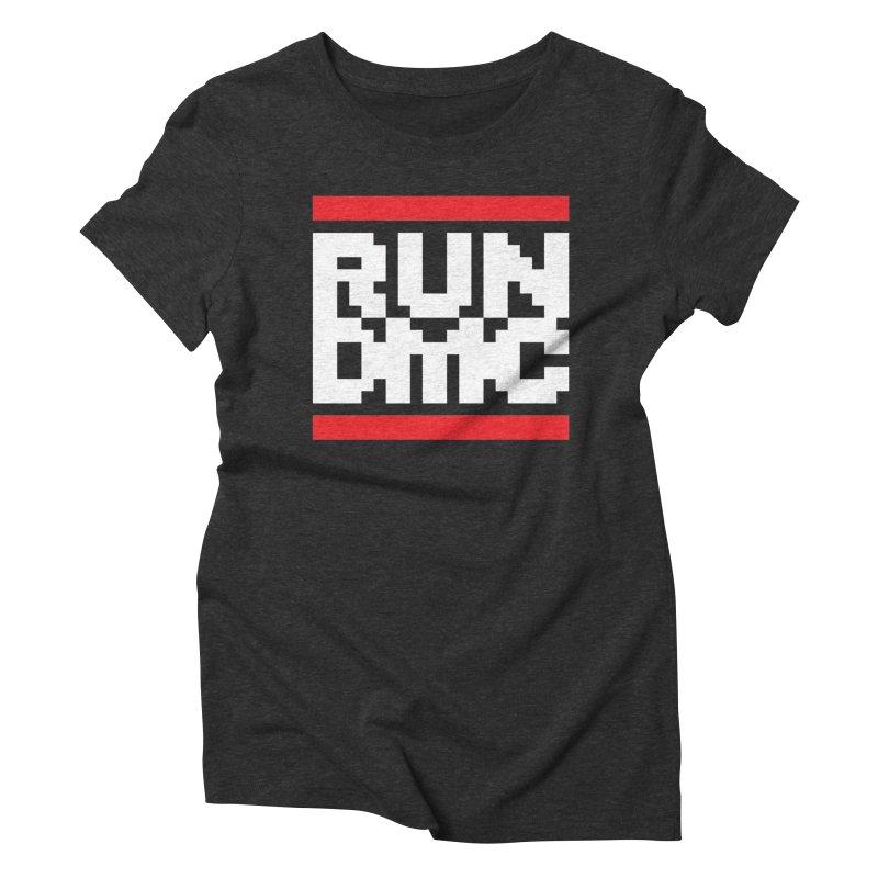 Hip Hop Group Women's Triblend T-Shirt by Aled's Artist Shop