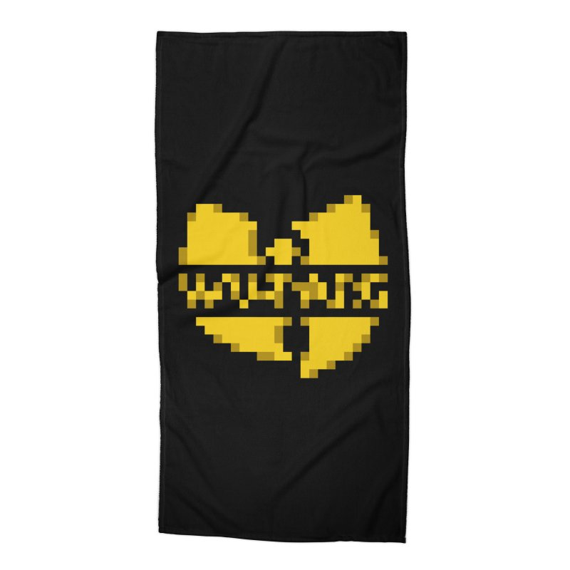 Hip Hop Group Accessories Beach Towel by Aled's Artist Shop