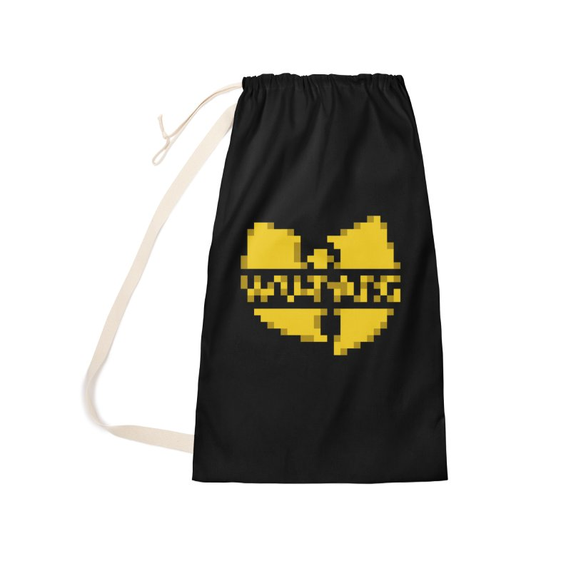 Hip Hop Group Accessories Laundry Bag Bag by Aled's Artist Shop