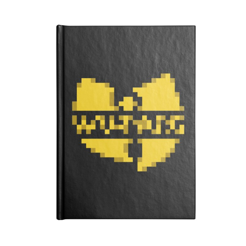 Hip Hop Group Accessories Notebook by Aled's Artist Shop