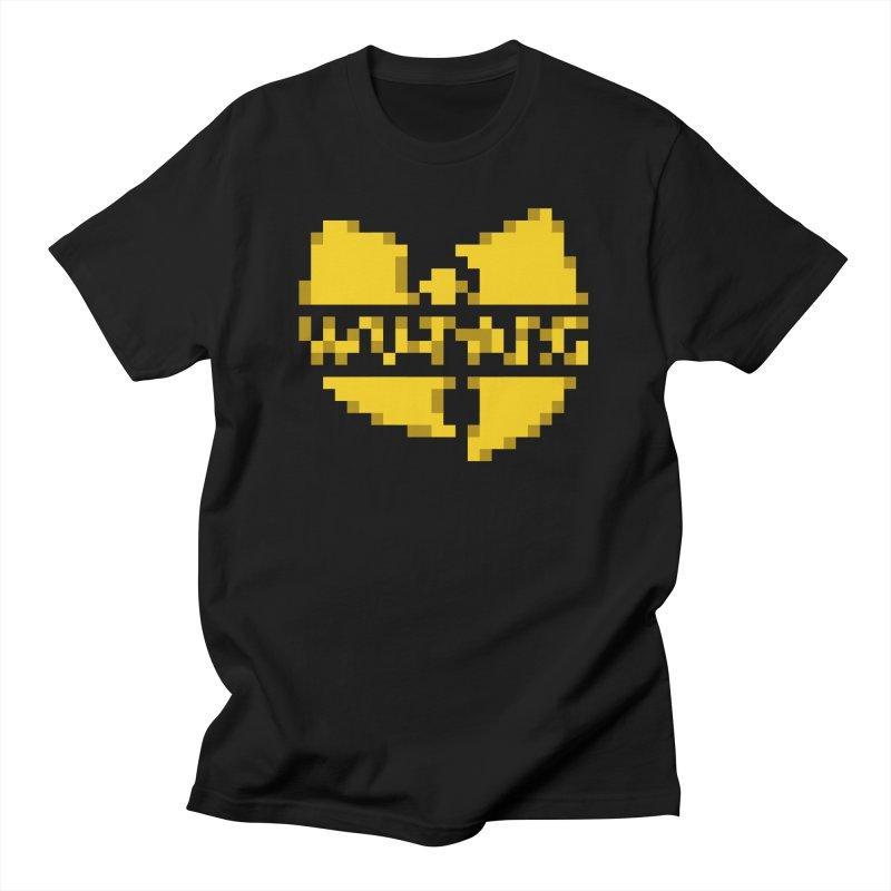 Hip Hop Group Men's T-Shirt by Aled's Artist Shop