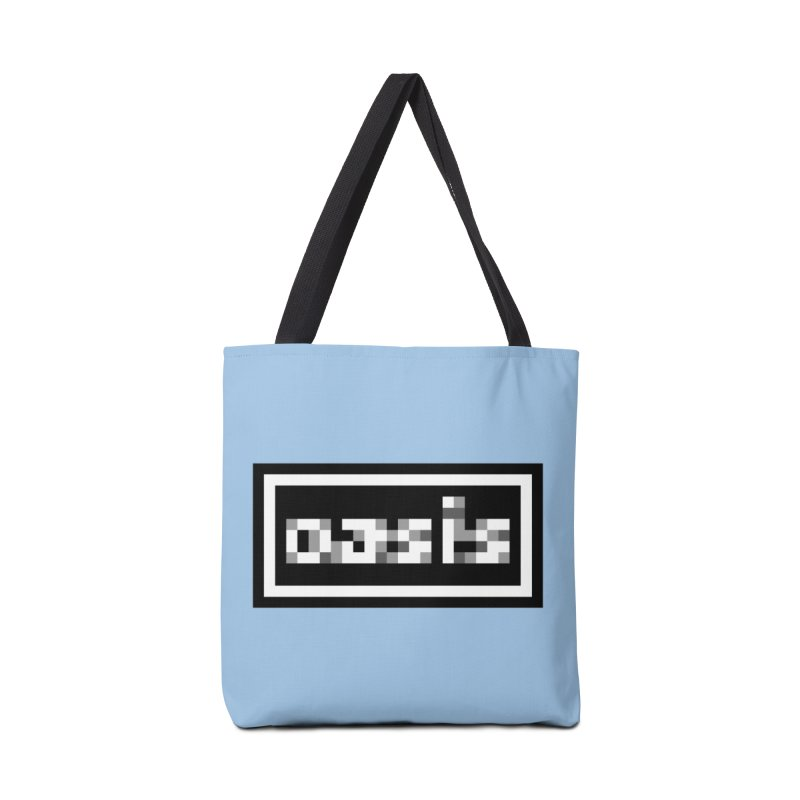 Britpop Band Accessories Tote Bag Bag by Aled's Artist Shop