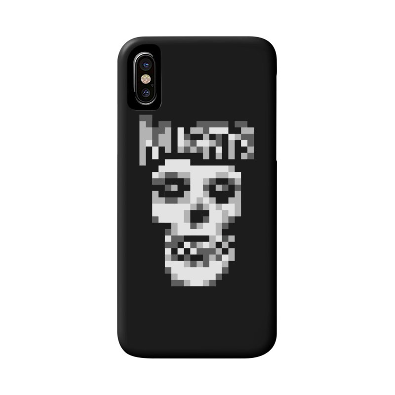 Horror Punk Band Accessories Phone Case by Aled's Artist Shop