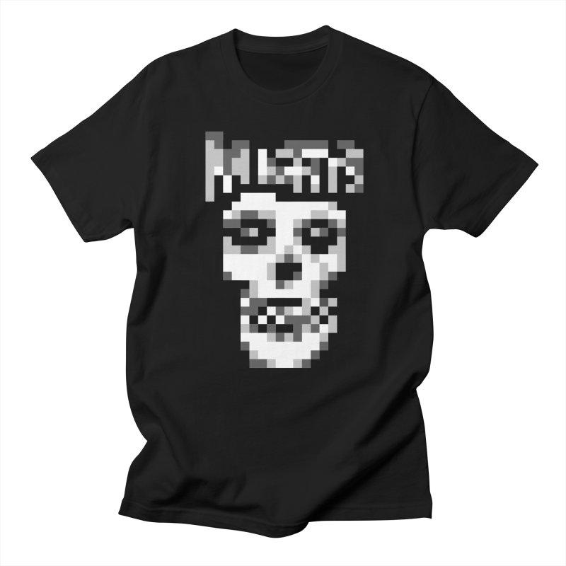 Horror Punk Band Men's T-Shirt by Aled's Artist Shop