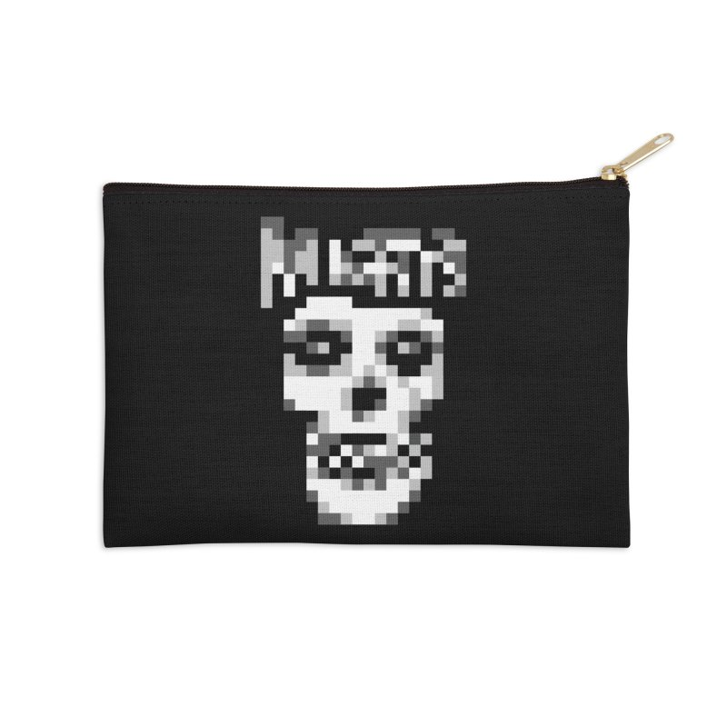 Horror Punk Band Accessories Zip Pouch by Aled's Artist Shop