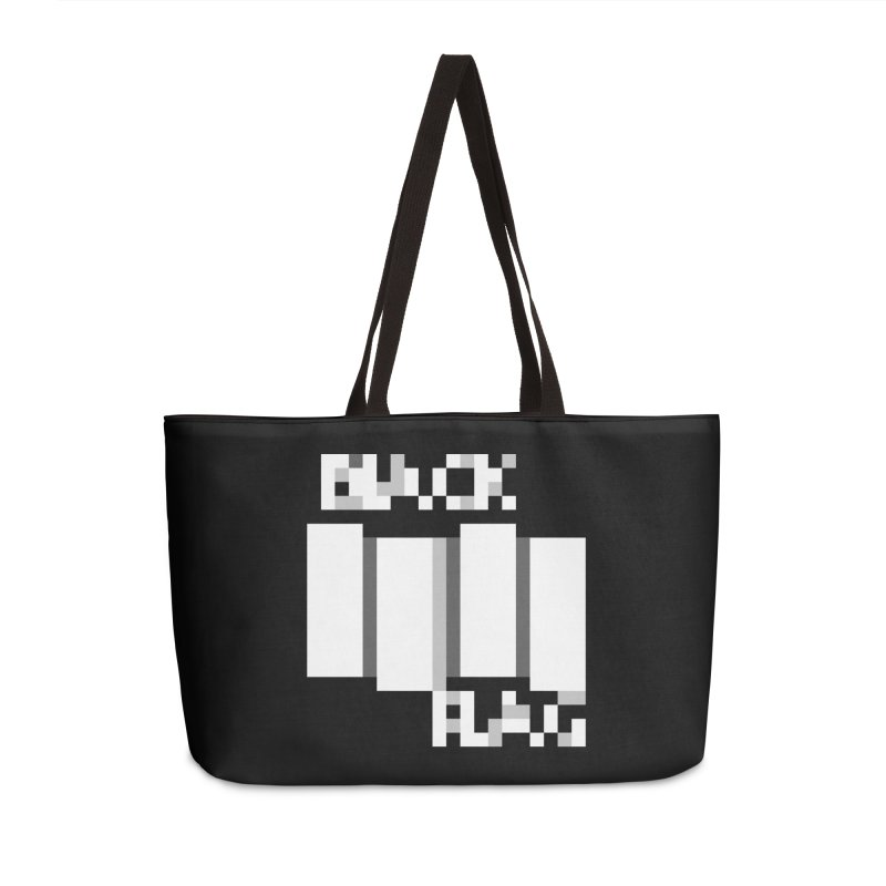 Hardcore Punk Band Accessories Weekender Bag Bag by Aled's Artist Shop