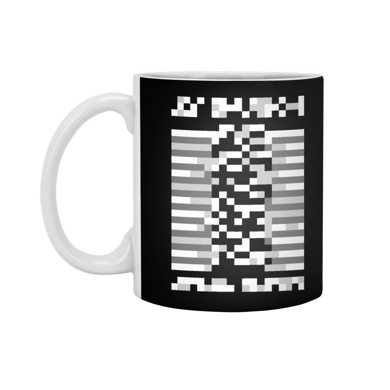 Post-Punk Rock Band Accessories Standard Mug by Aled's Artist Shop