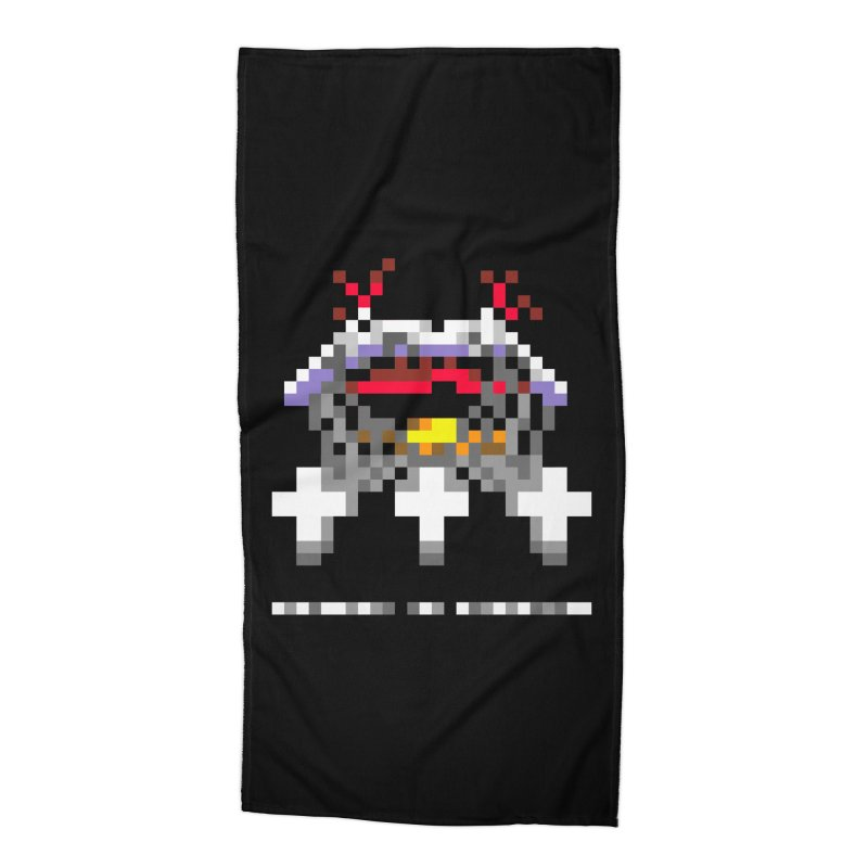 Heavy Metal Band Accessories Beach Towel by Aled's Artist Shop