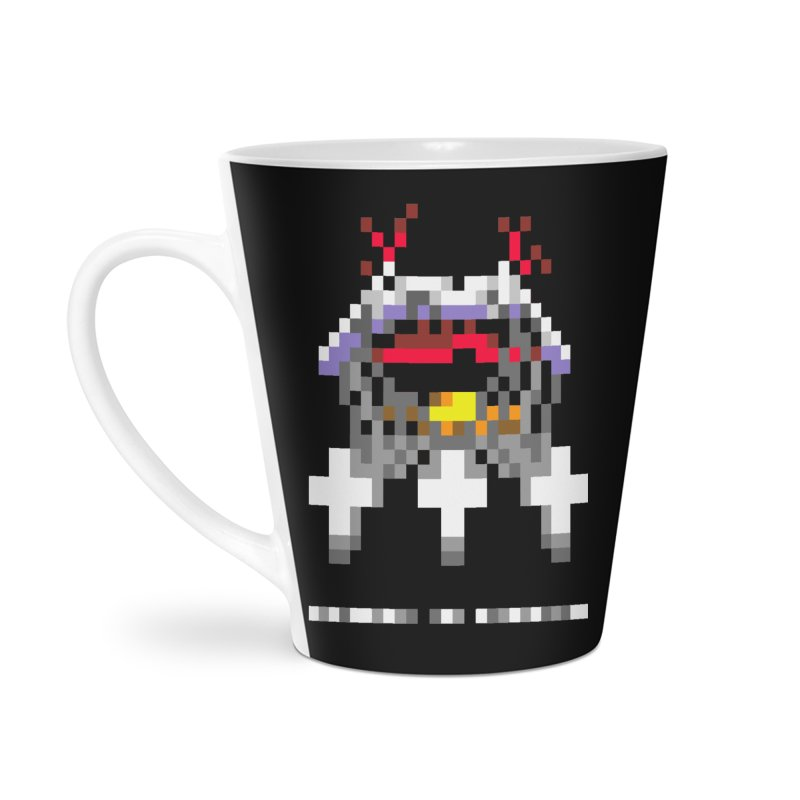Heavy Metal Band Accessories Latte Mug by Aled's Artist Shop