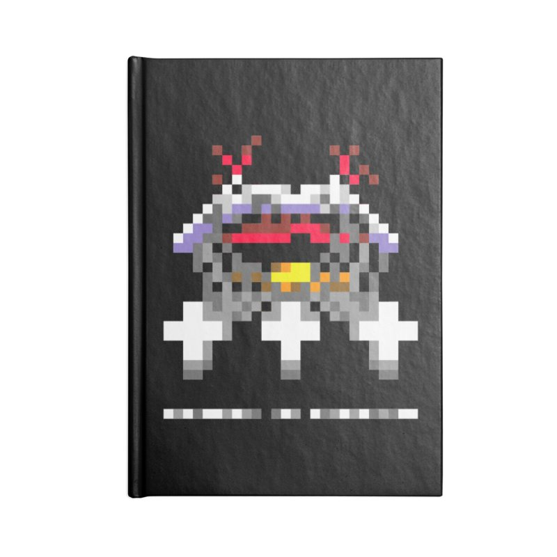 Heavy Metal Band Accessories Notebook by Aled's Artist Shop