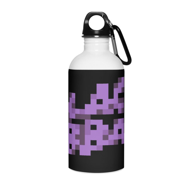 British Heavy Metal Band Accessories Water Bottle by Aled's Artist Shop