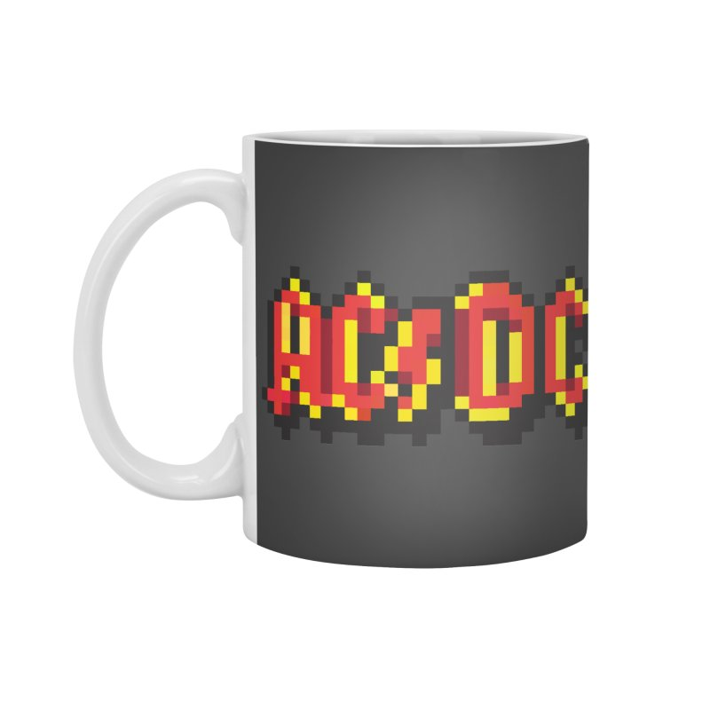 Hard Rock Band 2 Accessories Standard Mug by Aled's Artist Shop