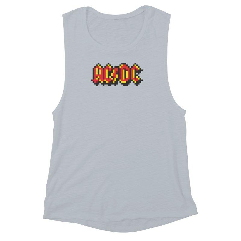 Hard Rock Band 2 Women's Muscle Tank by Aled's Artist Shop