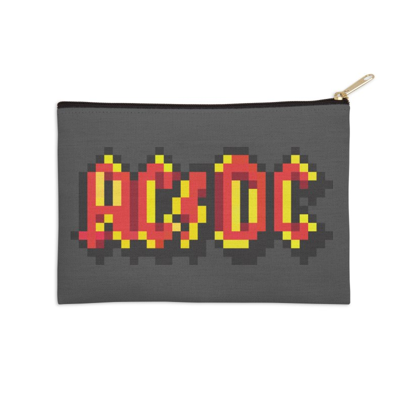Hard Rock Band 2 Accessories Zip Pouch by Aled's Artist Shop