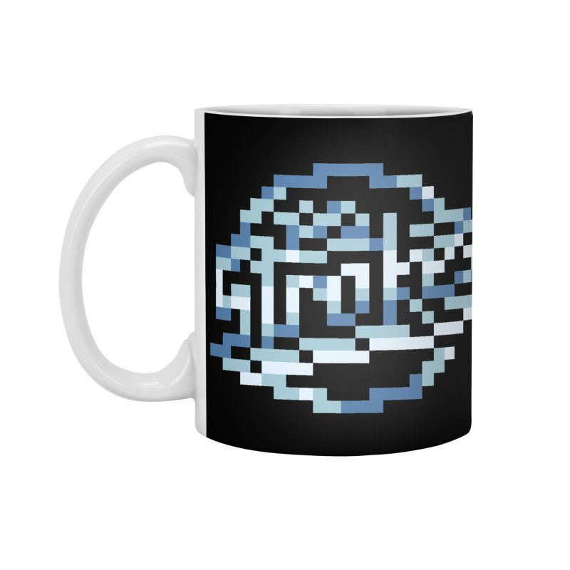 Indie Rock Band Accessories Standard Mug by Aled's Artist Shop
