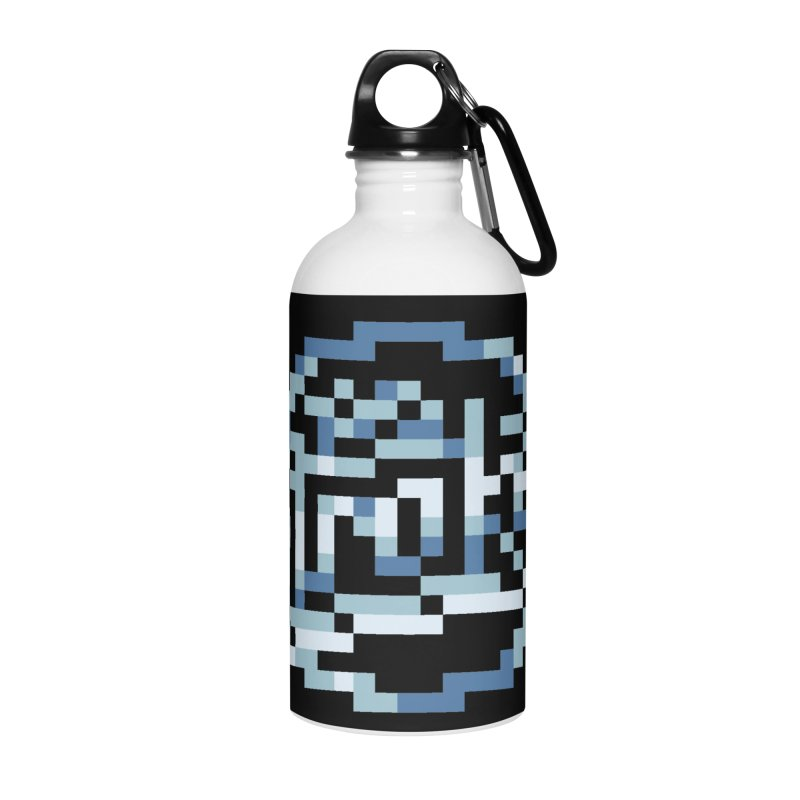 Indie Rock Band Accessories Water Bottle by Aled's Artist Shop