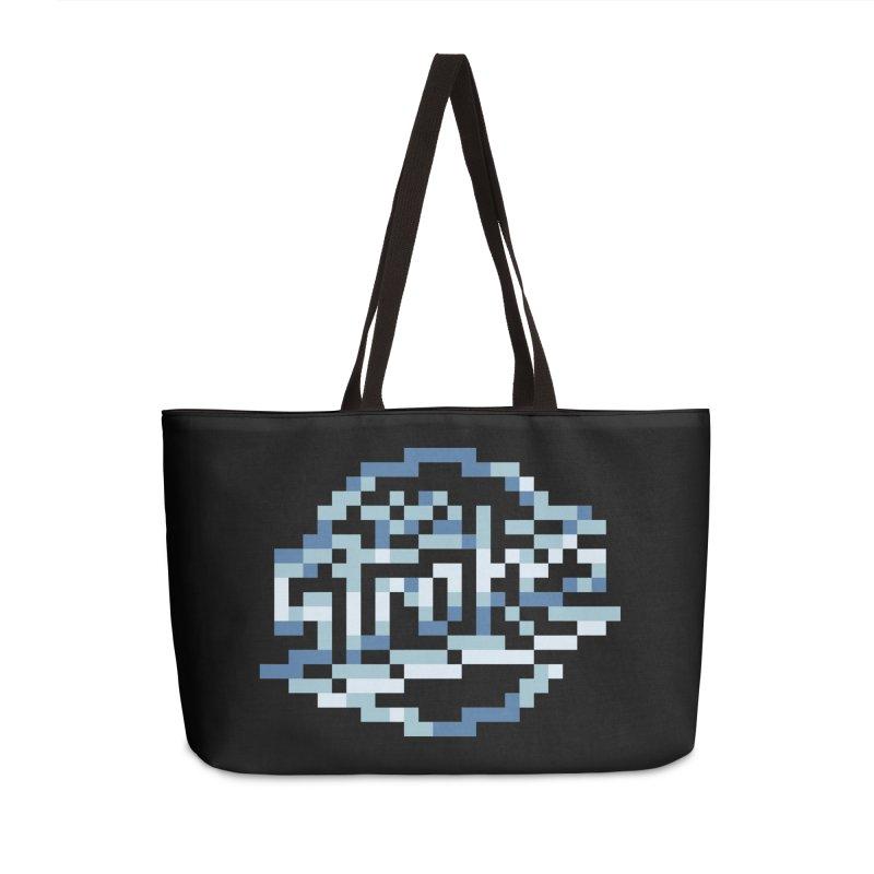 Indie Rock Band Accessories Weekender Bag Bag by Aled's Artist Shop