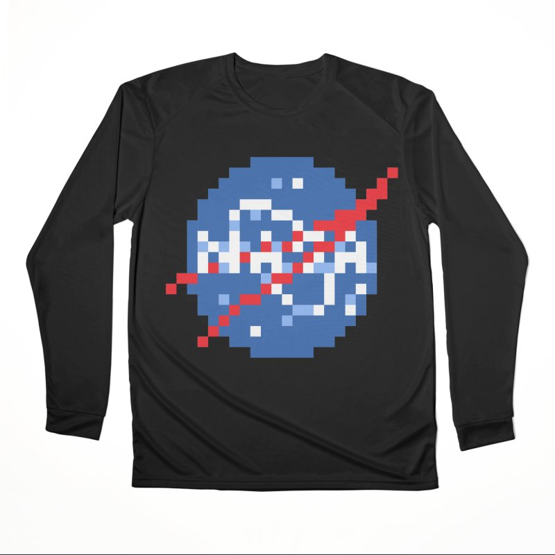 Space Science Men's Performance Longsleeve T-Shirt by Aled's Artist Shop
