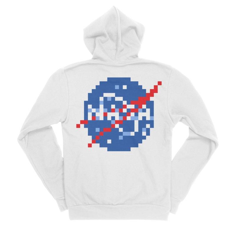 Space Science Men's Zip-Up Hoody by Aled's Artist Shop