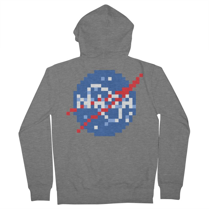 Space Science Men's French Terry Zip-Up Hoody by Aled's Artist Shop