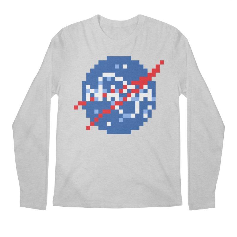 Space Science Men's Regular Longsleeve T-Shirt by Aled's Artist Shop