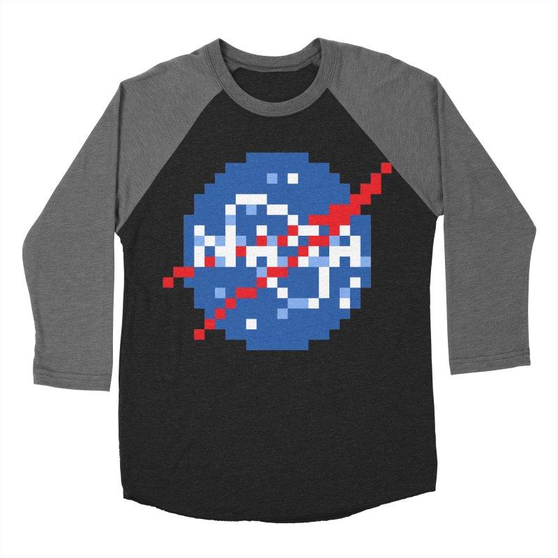 Space Science Men's Baseball Triblend Longsleeve T-Shirt by Aled's Artist Shop