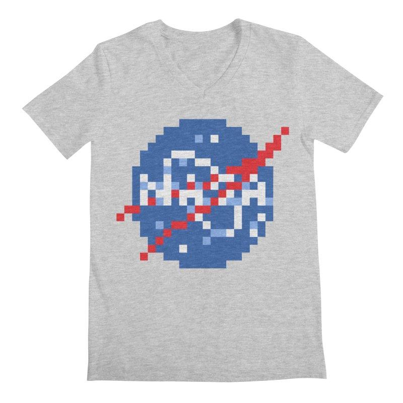 Space Science Men's Regular V-Neck by Aled's Artist Shop