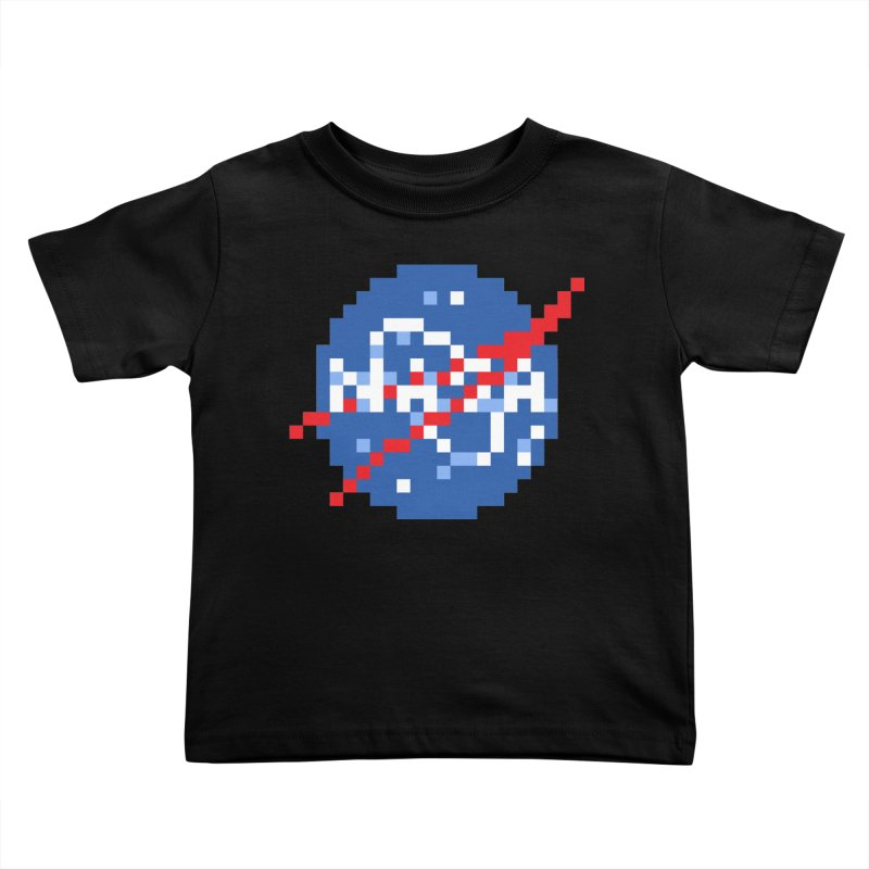Space Science Kids Toddler T-Shirt by Aled's Artist Shop