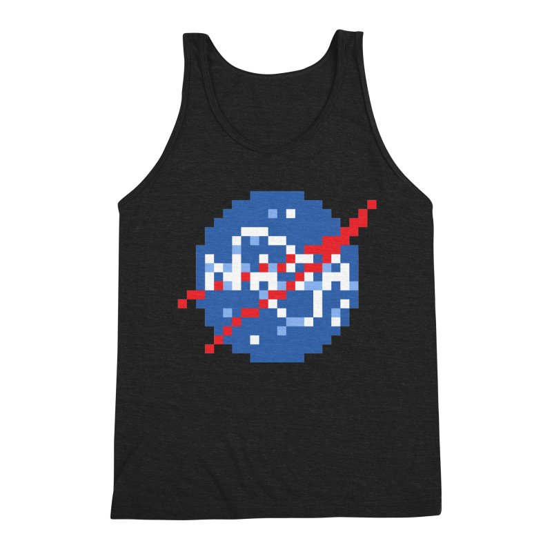 Space Science Men's Triblend Tank by Aled's Artist Shop