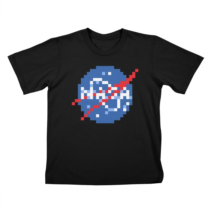 Space Science Kids T-Shirt by Aled's Artist Shop