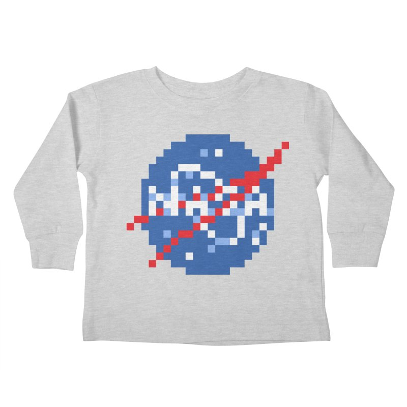 Space Science Kids Toddler Longsleeve T-Shirt by Aled's Artist Shop