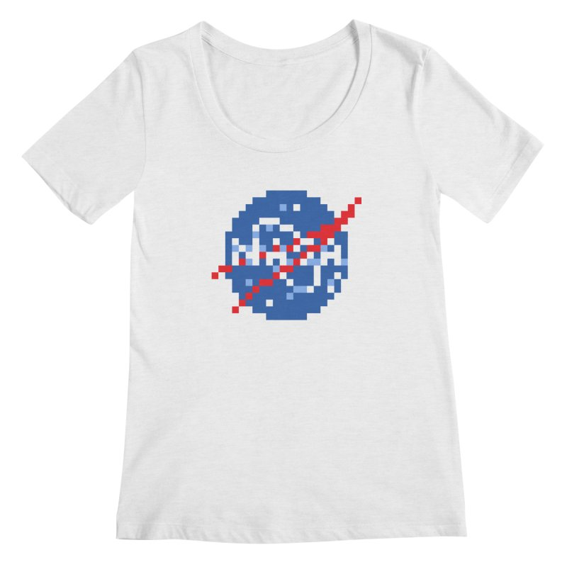 Space Science Women's Regular Scoop Neck by Aled's Artist Shop