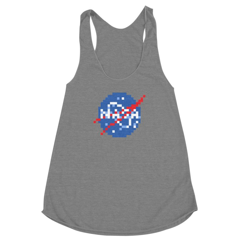 Space Science Women's Racerback Triblend Tank by Aled's Artist Shop
