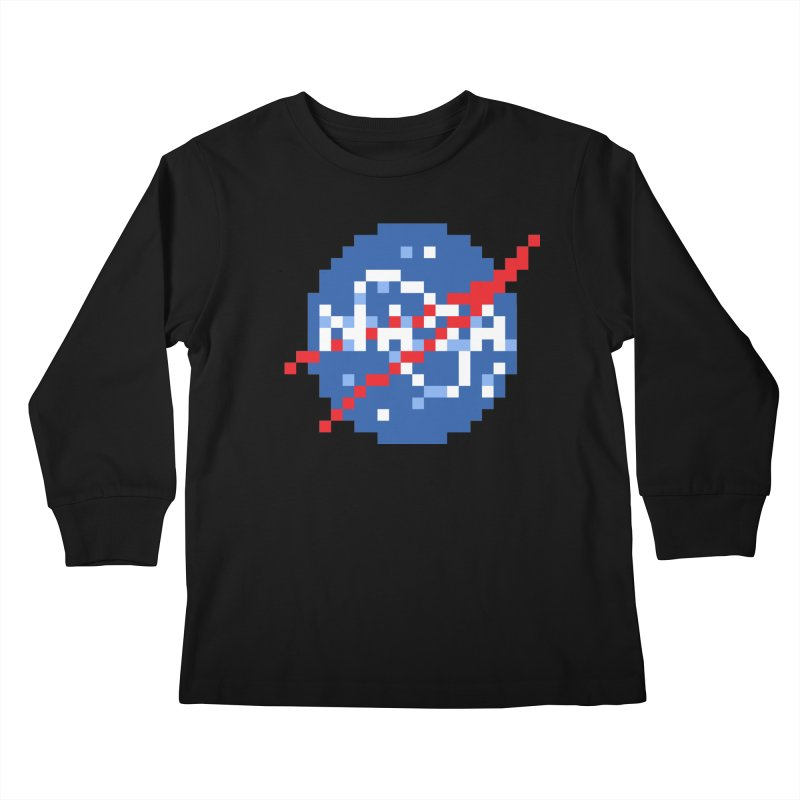 Space Science Kids Longsleeve T-Shirt by Aled's Artist Shop