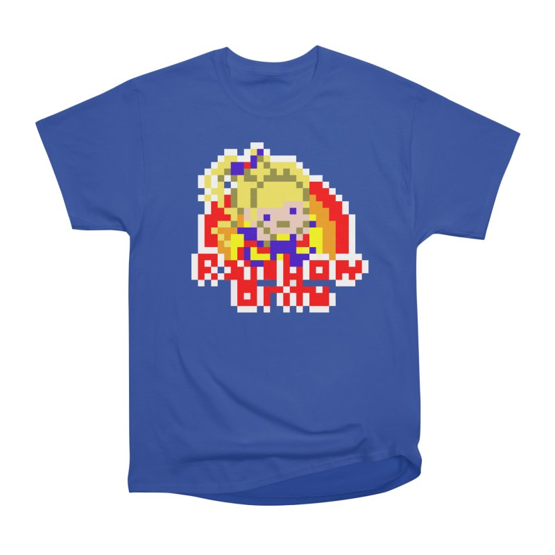 Magical Girl Women's Heavyweight Unisex T-Shirt by Aled's Artist Shop
