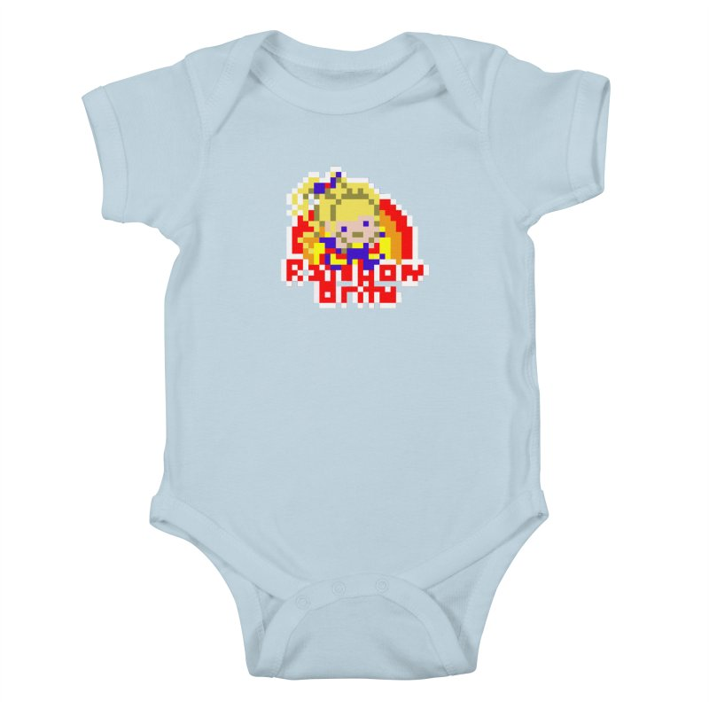 Magical Girl Kids Baby Bodysuit by Aled's Artist Shop