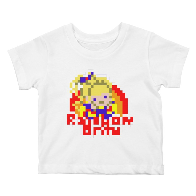 Magical Girl Kids Baby T-Shirt by Aled's Artist Shop