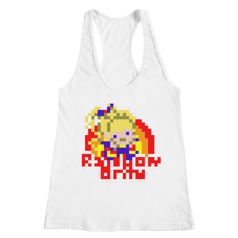 Magical Girl Women's Racerback Tank by Aled's Artist Shop