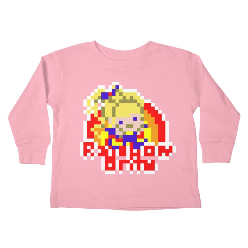 Magical Girl Kids Toddler Longsleeve T-Shirt by Aled's Artist Shop