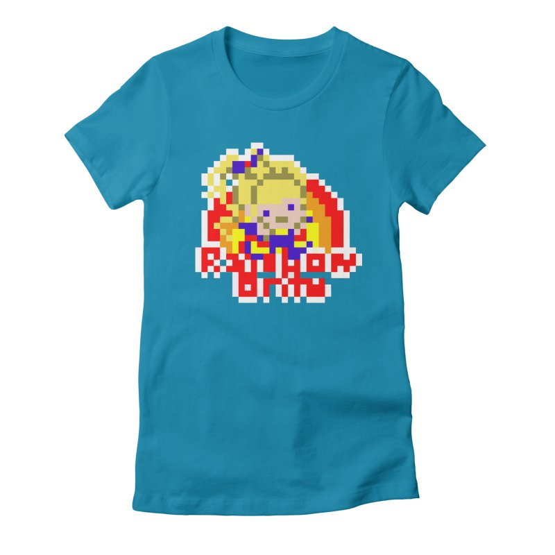 Magical Girl Women's Fitted T-Shirt by Aled's Artist Shop