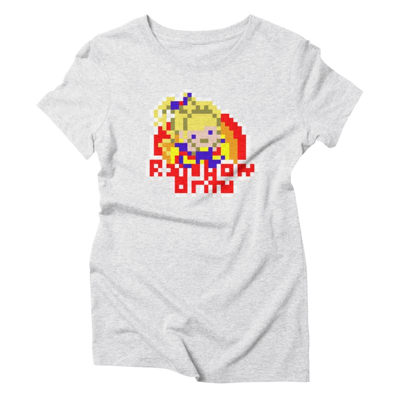 Magical Girl Women's Triblend T-Shirt by Aled's Artist Shop