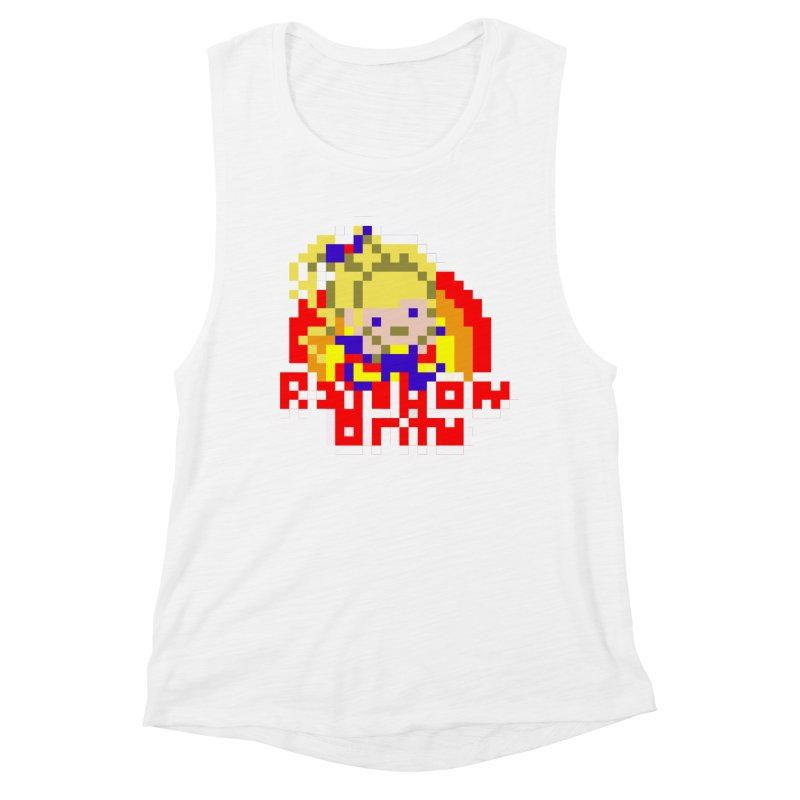 Magical Girl Women's Muscle Tank by Aled's Artist Shop