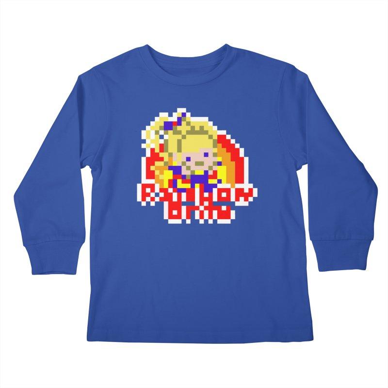 Magical Girl Kids Longsleeve T-Shirt by Aled's Artist Shop