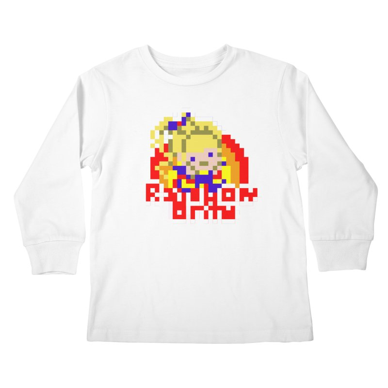 Magical Girl Kids Longsleeve T-Shirt by Aled's Artist Shop